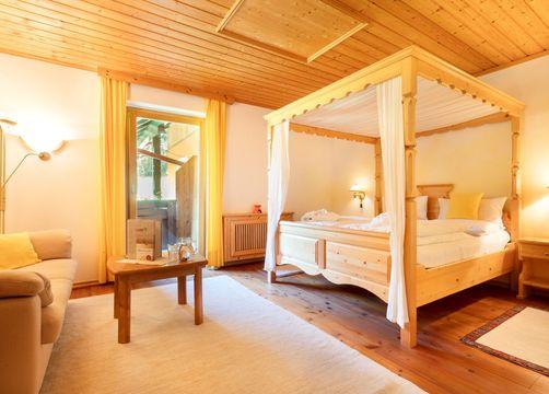 Double room BIO-Wohlfühl with balcony (1/4) - BioVitalHotel Sommerau