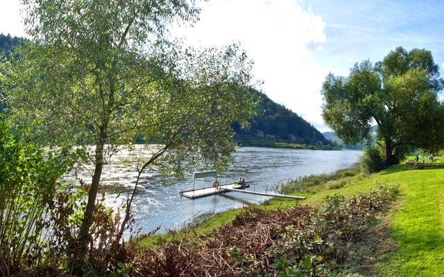 Biohotel Helvetia: Direkt an der Elbe