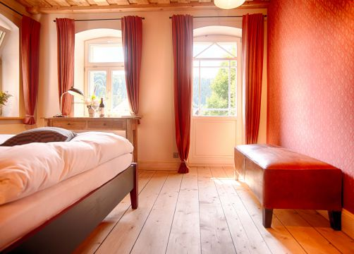 Hotel Muhle double room (7/10) - Bio- & Nationalpark Refugium Schmilka