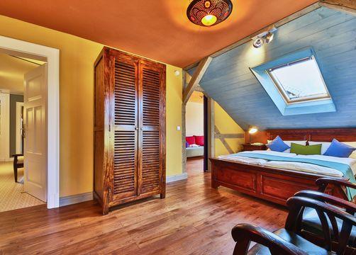 Villa Waldfrieden premium doubleroom (7/8) - Bio- & Nationalpark Refugium Schmilka