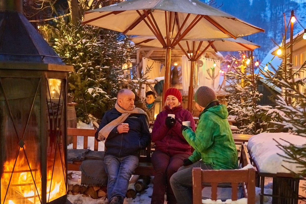 2 Nächte Weihnachten im Winterdorf mit Halbpension
