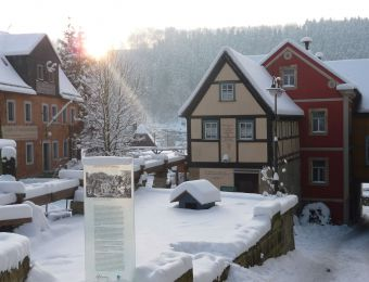 Top Deals: 3 day package with the large winter village package - Bio- & Nationalpark Refugium Schmilka