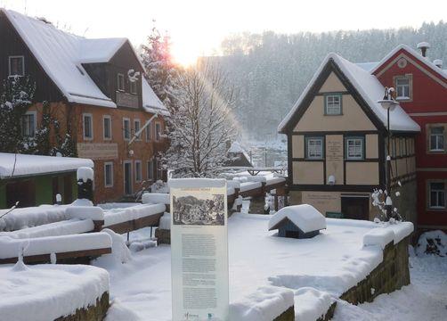 Bio- & Nationalpark Refugium Schmilka: Winterdorf - Bio- & Nationalpark Refugium Schmilka