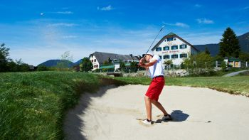Golfen Biohotel Schweitzer Urlaub Auszeit