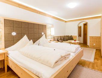 Swiss stone pine organic room without balcony - Biohotel Schweitzer