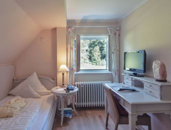 Classic single room small with garden view - Schlossgut Oberambach