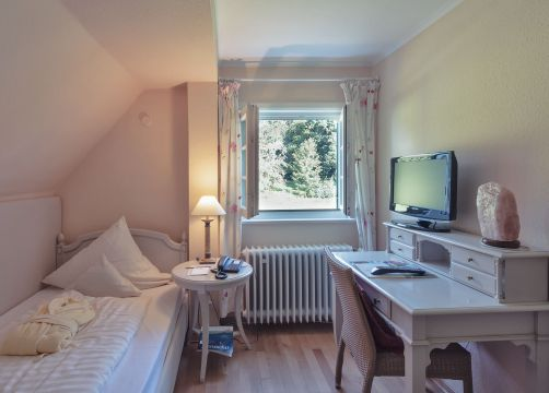 Classic single room small with garden view (1/2) - Schlossgut Oberambach