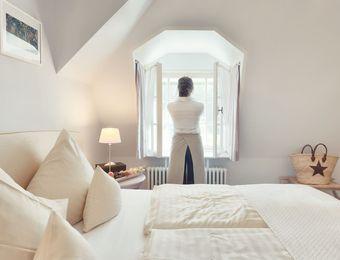 Piccola camera doppia con vista giardino - Schlossgut Oberambach