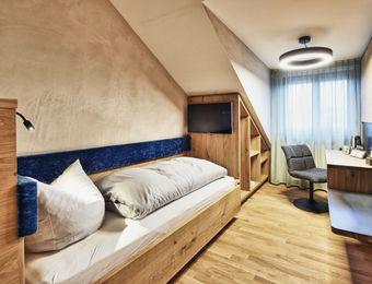 Einzelzimmer - Bio-Hotel und Restaurant Rose