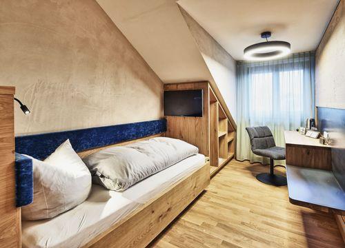 Biohotel Rose Ehestetten Zimmer Einzelzimmer (1/2) - Bio-Hotel und Restaurant Rose