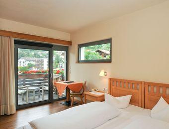 Camera doppia lato nord con balcone - Biohotel Panorama