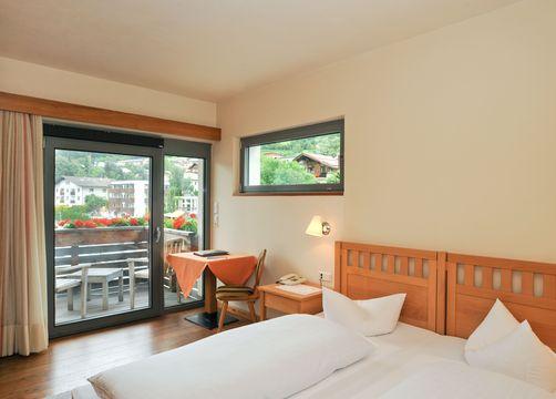 Camera doppia lato nord con balcone (1/3) - Biohotel Panorama