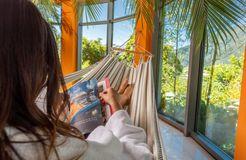 Rilassate nella zona relax - Biohotel Panorama, Mals, Trentino-Alto Adige, Italia