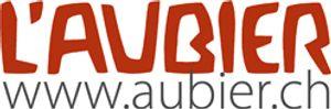 L'Aubier, Café-Hôtel - Logo