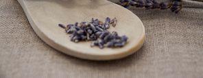 Lavendel-Vital-Behandlung für die Füße