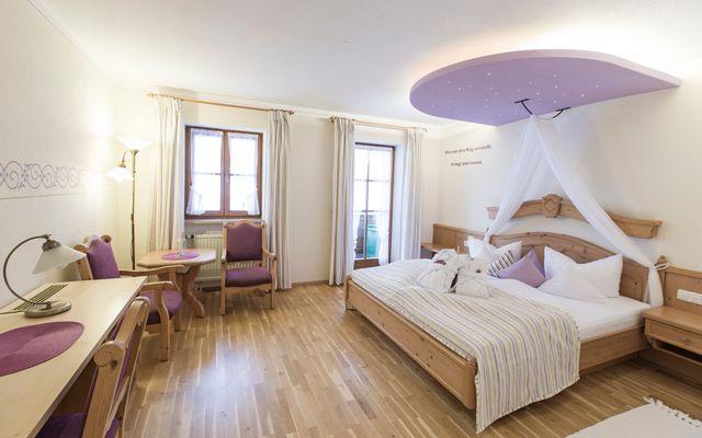 Biohotel moor&mehr: Bio-Zimmer Lavendel