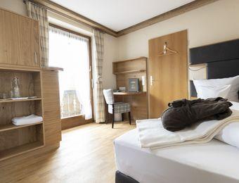 Single room mint with balcony - moor&mehr Bio-Kurhotel