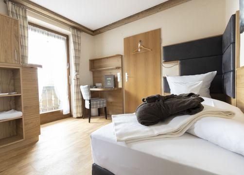 Single room mint with balcony (1/4) - moor&mehr Bio-Kurhotel