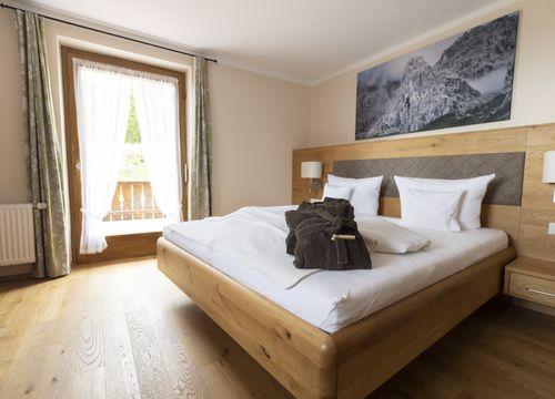 """Double room """"Minze"""" (two beds) (1/5) - moor&mehr Bio-Kurhotel"""