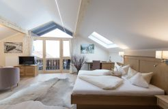 Biohotel moor&mehr Zimmer Panorama Suite Wildrose (3/4) - moor&mehr Bio-Kurhotel