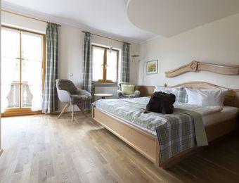 Bio-Romantik-Doppelzimmer Lavendel Süd - moor&mehr Bio-Kurhotel