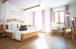 Biohotel moor&mehr Romantik Doppelzimmer Lavendel Süd (2/3) - moor&mehr Bio-Kurhotel