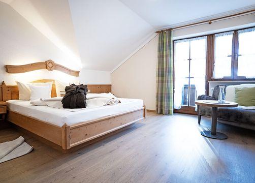 Biohotel moor&mehr Komfort Doppelzimmer Holunder (1/2) - moor&mehr Bio-Kurhotel