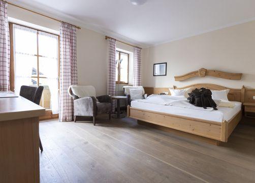 Biohotel moor&mehr Komfort Doppelzimmer Holunder mit Balkon (1/3) - moor&mehr Bio-Kurhotel