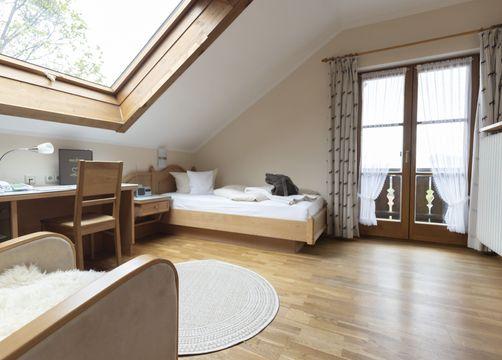iohotel moor&mehr Einzelzimmer Komfort Minze (1/1) - moor&mehr Bio-Kurhotel