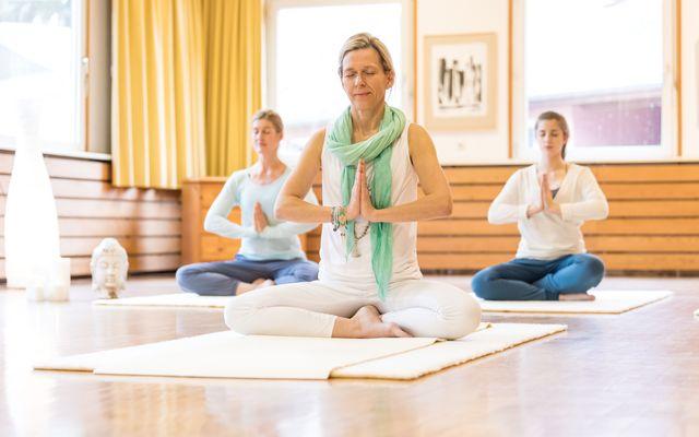Biohotel Menschels Vitalresort: Yoga-Stunde