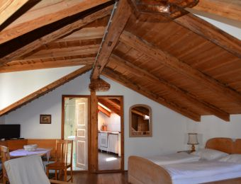 Urlaub auf dem  Bauernhof - Ferienwohnung A - Landhotel Anna & Reiterhof Vill