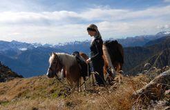 BIO HOTEL Anna: Pferde - Landhotel Anna & Reiterhof Vill, Schlanders, Vinschgau, Trentino-Südtirol, Italien