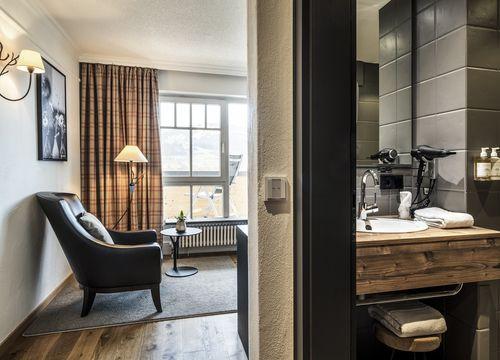 Comfort single room Säntis 1/6