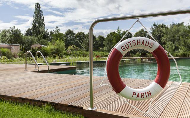 Biohotel Gutshaus Parin: Wassererlebnis