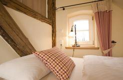 Biohotel Gutshaus Parin: Zimmer Wasser - Hotel Gutshaus Parin, Parin, Mecklenburg-Vorpommern, Deutschland