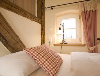 """Doppelzimmer """"Wasser"""" - Hotel Gutshaus Parin"""