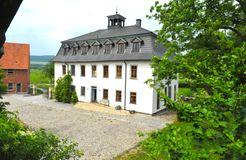 Biohotel Stiftsgut Wilhelmsglücksbrunn, Creuzburg, Turingia, Germania (11/19)