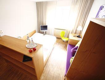 Doppelzimmer Zeitgeist small - Biohotel Sturm