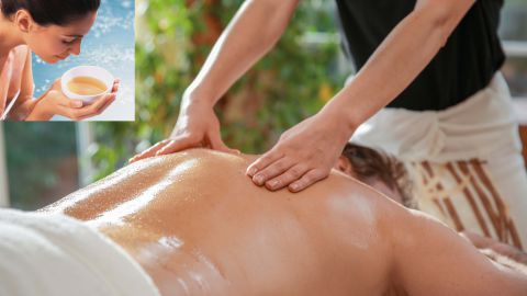 Partial Massage with Aromaoil