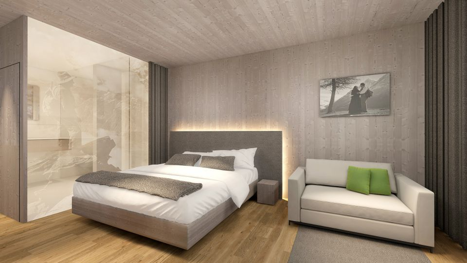 Komfort Doppelzimmer Sarotla