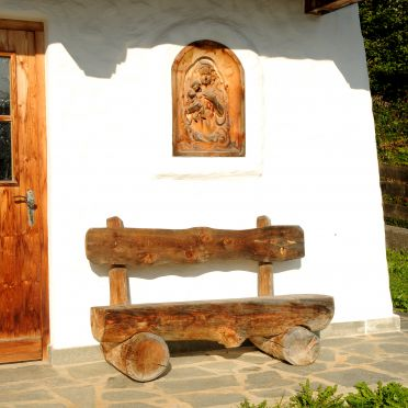 Bank, Magdalena Hütte in Hippach, Tirol, Tirol, Österreich