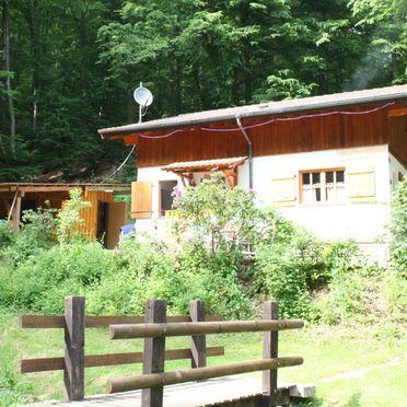 Sommer, Vogesen-Chalet, Puberg, Elsass, Elsass, Frankreich