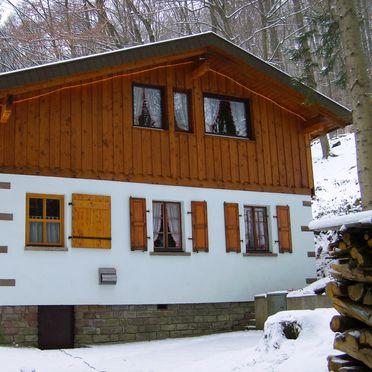 Vogesen-Chalet, Winter