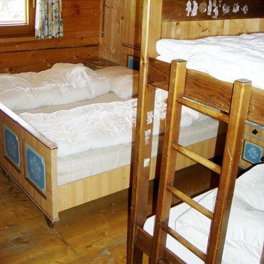 Moaralmhütte, Schlafzimmer Stockbett