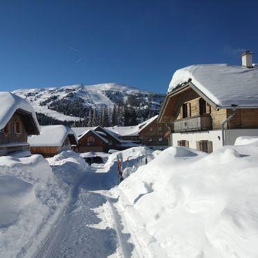 Winter, Almdorf Katschberg in Rennweg, Salzburg, Salzburg, Österreich