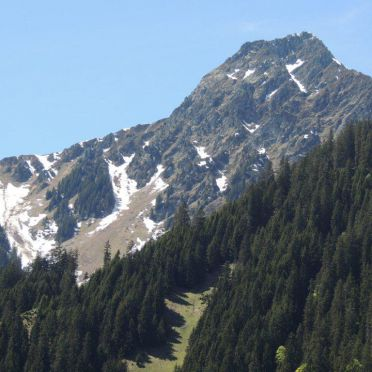 View, Hütta Monika, Sankt Gallenkirch, Vorarlberg, Vorarlberg, Austria