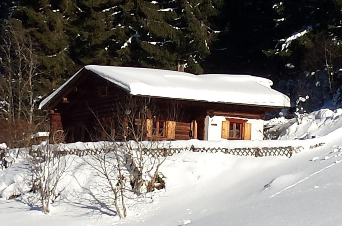 Hütta Monika, Winter