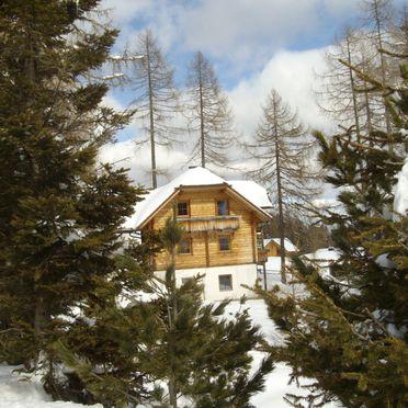 Hochrindlhütte, Winter