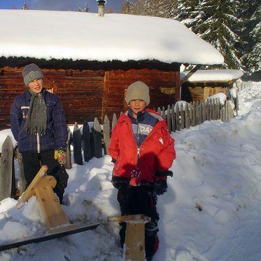 Frontansicht1, Reh's Wiesen Hütte in Lüsen/Brixen, Südtirol, Trentino-Südtirol, Italien