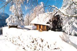 Hütten in Oberösterreich in Österreich